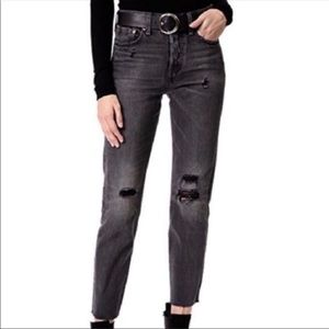 Levi's Wedgie High Rise Button Fly Selvedge Jeans